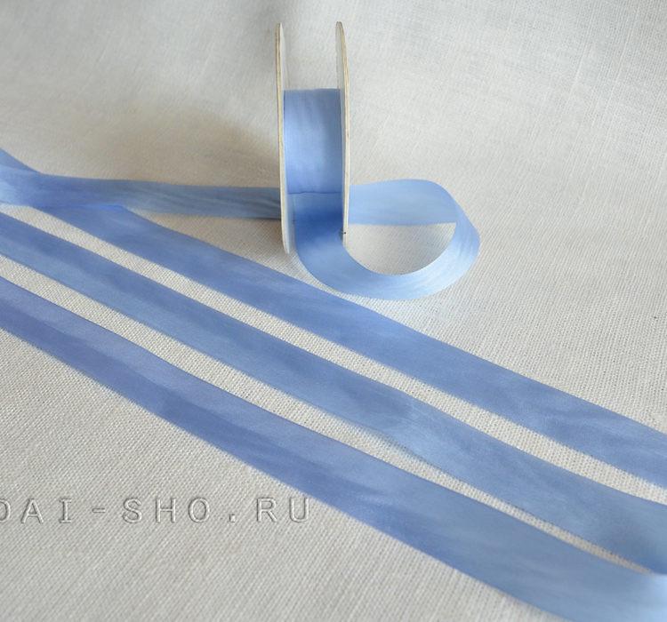 Шёлковая лента Однотонная 20мм