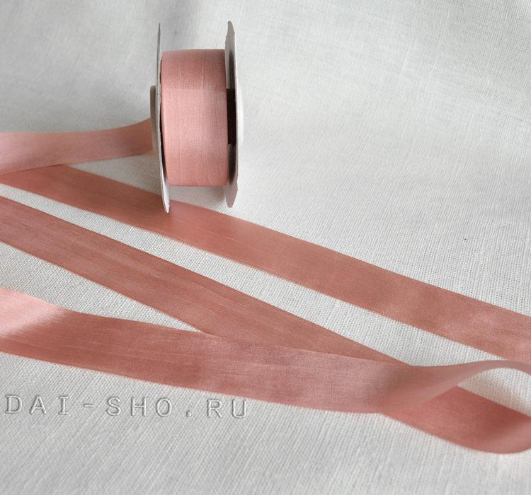 Шёлковая лента Меланж 25мм