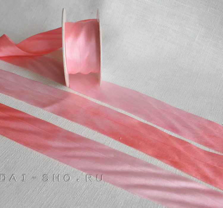 Шёлковая лента Меланж 32мм